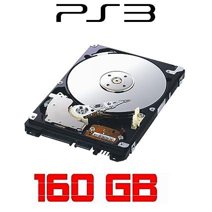160GB Festplatte fur SONY Playstation 3, ALLE Baureihen inkl. PS3 SLIM