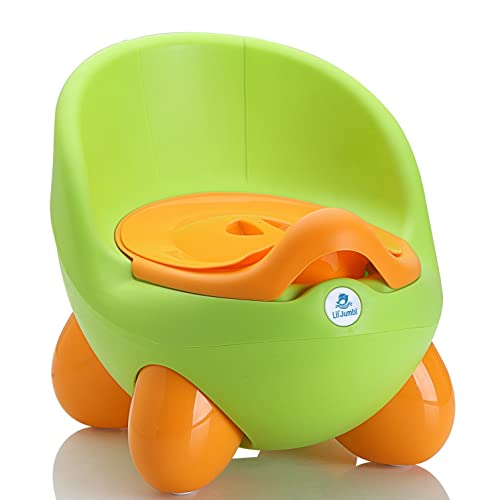 "Lil Jumbl Green Baby Egg Potty - Perfect Mommys Helper for Potty Training - Green"" /></span><span style="