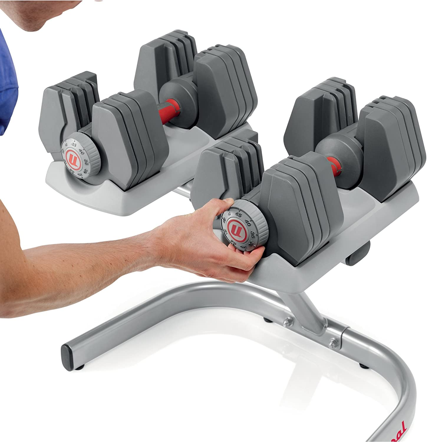 Universal Power Pack Adjustable Dumbbell Set