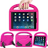 LEDNICEKER Kids Case for iPad Mini 1 2 3 4 5 - Light Weight Shock Proof Handle Friendly Convertible Stand Kids Case for iPad Mini, Mini 5, Mini 4,iPad Mini 3rd Generation, Mini 2 Tablet - Magenta/Rose (Color: Magenta/Rose, Tamaño: For iPad Mini 1 2 3 4 5 Tablet)