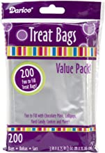 Darice 28-001V 3-Inch-by- 4-34-Inch Clear Treat Bag 200-Pieces