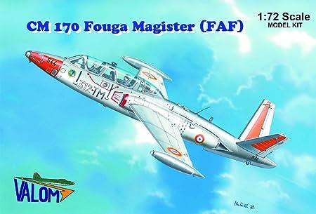 Valom 72083 Fouga Magister CM170 (French) 1:72 Plastic Kit Maquette