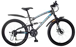 KROSS Maximus 26T 21 Speed Mountain Bike (Black)