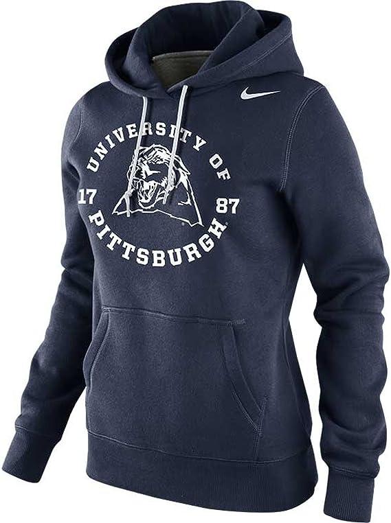 Nike WOMENS Pittsburgh Panthers NCAA School Stamp Pullover Hoodie