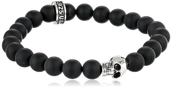 Skull Bracelet Bead Bracelet With Skull