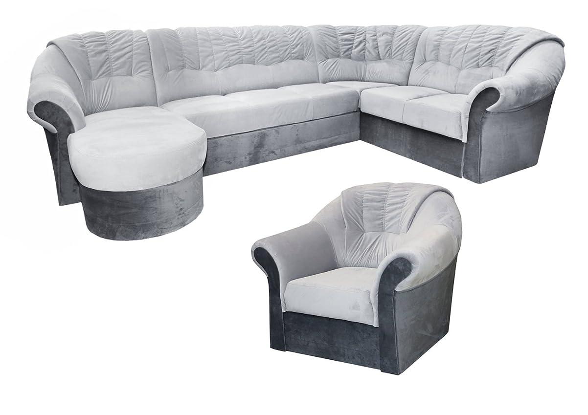 Wohnlandschaft-Set Calimero – mit Staukasten und Bettfunktion inkl. Sessel bestellen