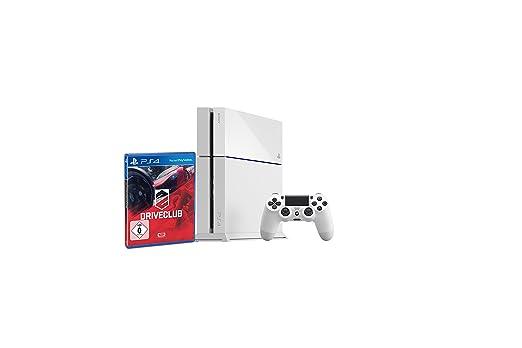 PlayStation 4 - Konsole weiß inkl. DriveClub