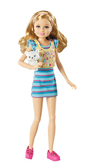 Barbie Sisters Stacie Doll and Pet