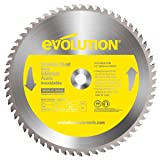 Evolution Power Tools 14BLADESS Stainless Steel Cutting Saw Blade, 14-Inch x 90-Tooth (Color: Yellow, Tamaño: 14 Inch)