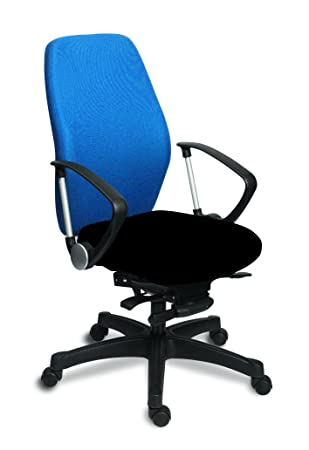 Melody Swivel Height Adjustable Chair, Royal Blue