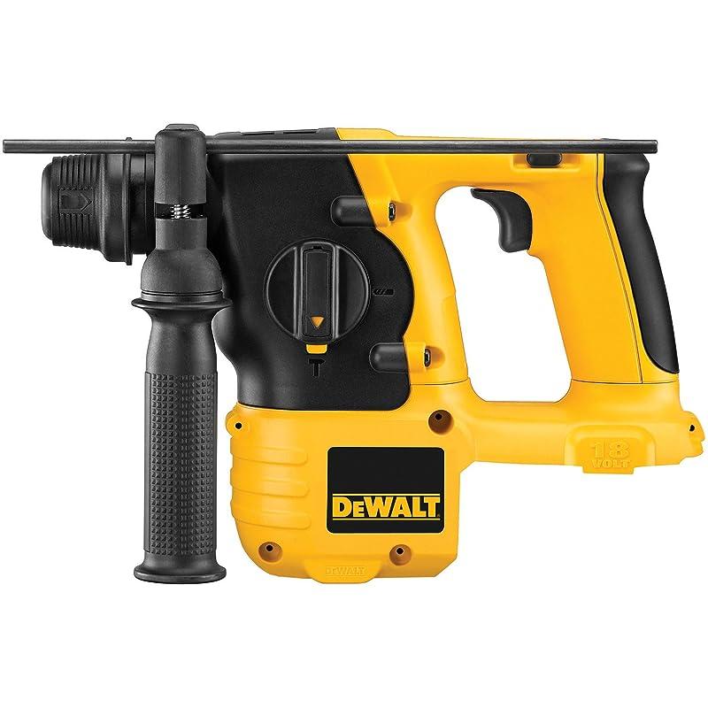 DEWALT Bare-Tool DC212B 18-Volt 7/8-Inch Cordless SDS Hammer (Tool Only, No Battery) via Amazon
