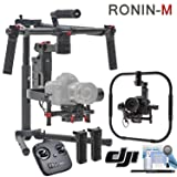 DJI Ronin-M Kit - (Version 3) - Includes Remote Controller, 2 Batteries, Ronin-M Handheld Grip Kit, Magnetic DJI Lapel Pin and more (Color: Ronin-M, Tamaño: Grip Kit)
