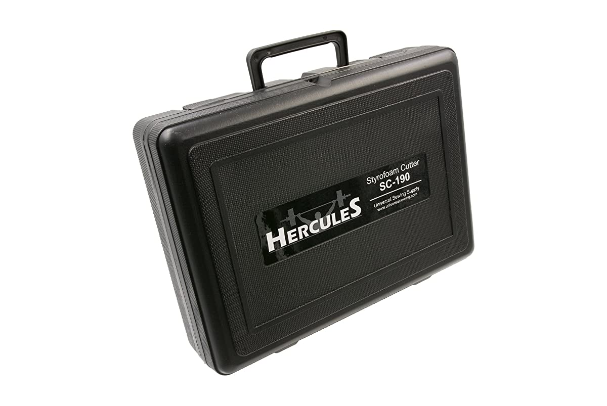Hercules SC-190 Handheld Electric Styrofoam Hot Knife and Accessories (SC-190 Cutter Kit)