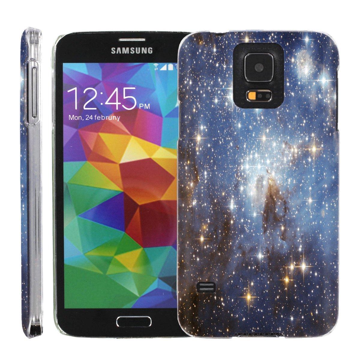 [ManiaGear] [ULTRA SLIM] Clip On Grephic Deisign Case (Stars Light) for Samsung Galaxy S5 S 5