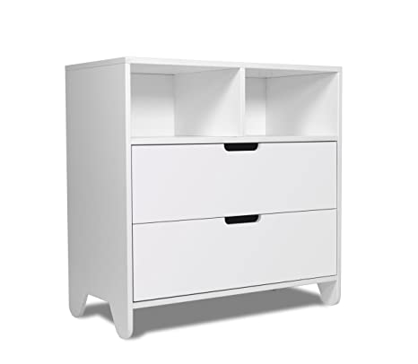 Spot On Square Hiya Dresser, White (Discontinued by Manufacturer)