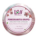 Lass Naturals Lass Naturals Pomegranate & Grapes Lip Balm