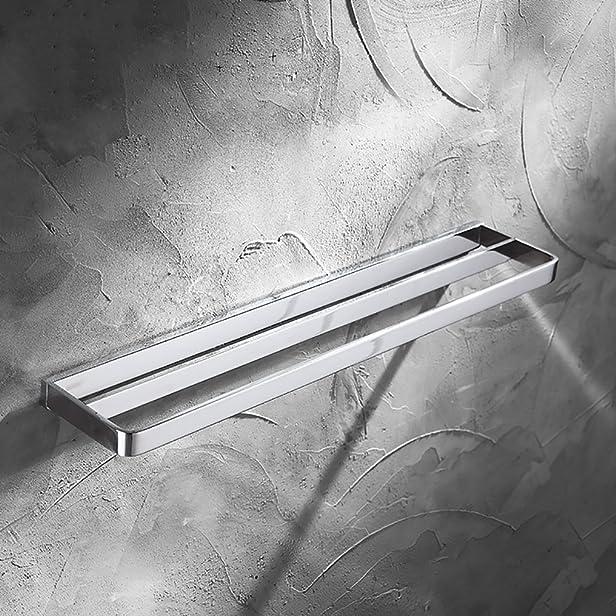 FYY Towel bars Tovagliolo Rack / Rame Spessore Rack Asciugamano Doppio Rod / Bagno Asciugamano Mensola Asciugamano / Long Hand Towel Ciondolo / Pendente Toilette