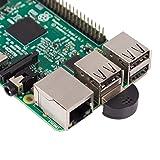 SunFounder USB 2.0 Mini Microphone for Raspberry Pi 3, 2 Module B & RPi 1 Model B+/B Laptop Desktop PCs Skype VOIP Voice Recognition Software (Color: Raspberry Pi Microphone)