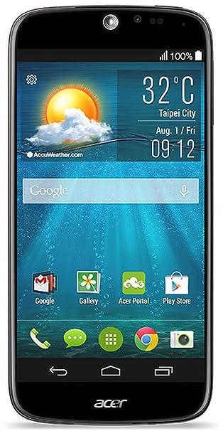Acer Liquid Jade Plus Dual-SIM Smartphone débloqué 5 pouces 16 Go Android Noir (import Allemagne)