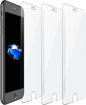 iOrange-E iPhone 7 Tempered Glass Screen Protector 3-Pack