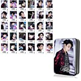 Youyouchard Kpop BTS Album Love Yourself Tear 40PCS BTS Photocard with Glow Photo Clip, Decorate Your Bedroom (Freely Combinable)(H10-Photocard30) (Color: H10-Photocard*30)