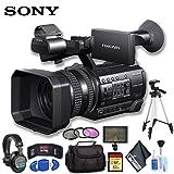 Sony HXR-NX100 Full HD NXCAM Camcorder Ultimate Bundle (Color: Ultimate Bundle)