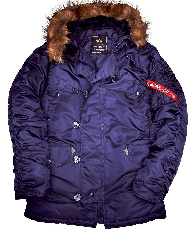 Alpha Industries N3B Jacket Winterjacke Herren Jacke 30106 günstig