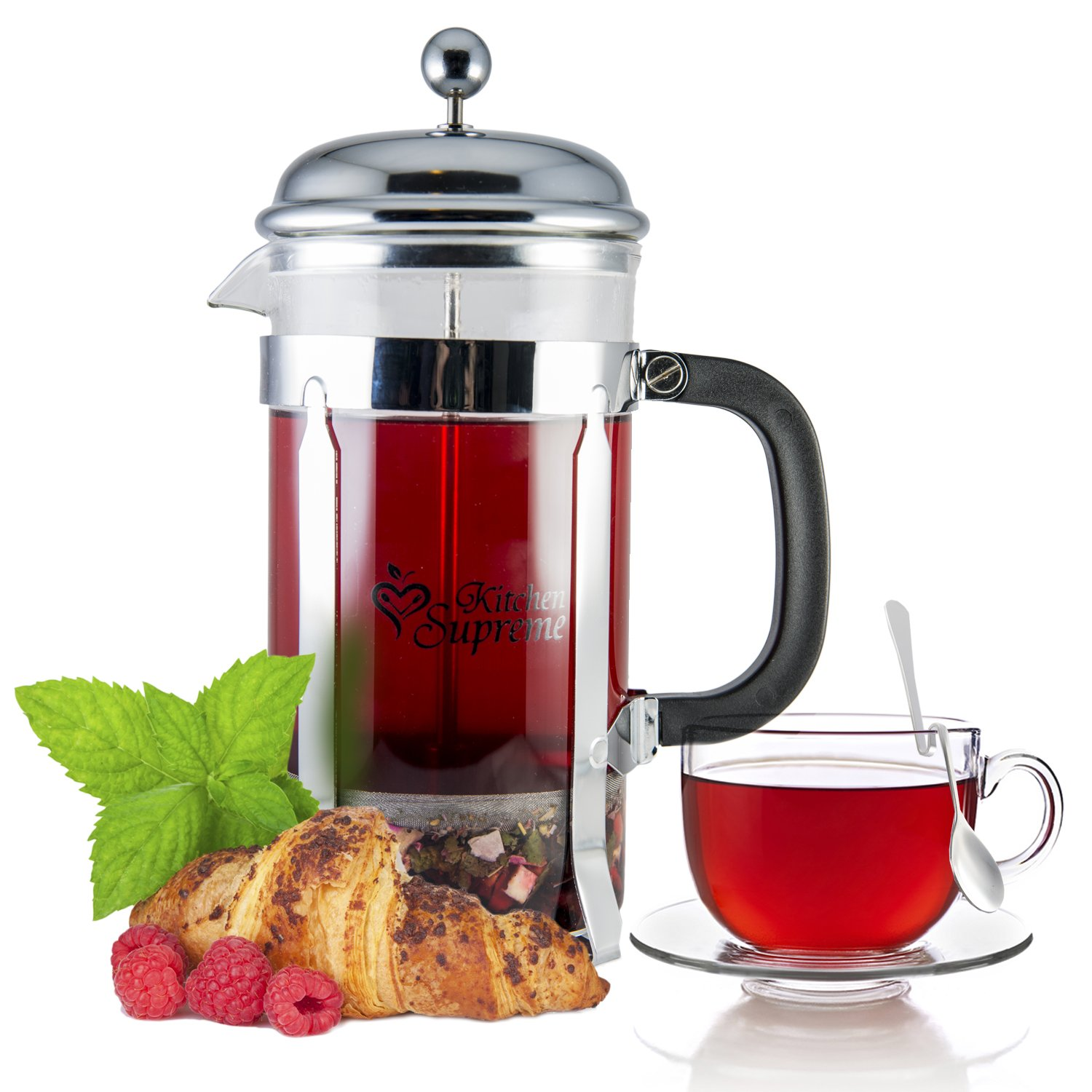 Kitchen Supreme French Press Coffee and Tea Maker