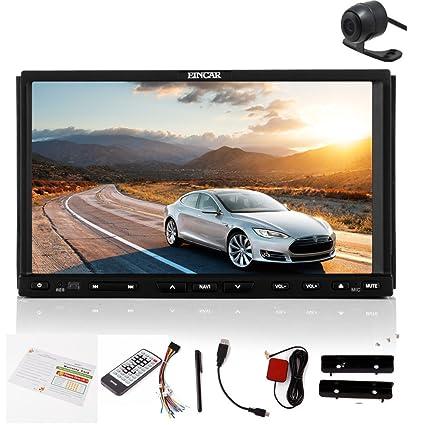 FM / AM mš¢s nuevo 2,015 Eincar En AUX DVD tablero de coches stšŠršŠo 7 pulgadas LCD USB / SD con pantalla tš¢ctil numšŠrique de dos DIN coche Lecteur DVD con Bluetooth FM ršŠ