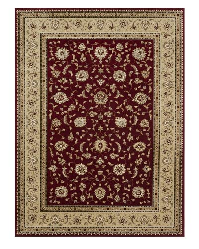 Loloi Rugs Welbourne Rug, Red/Beige, 7′ 7″ x 10′ 6″ As You See