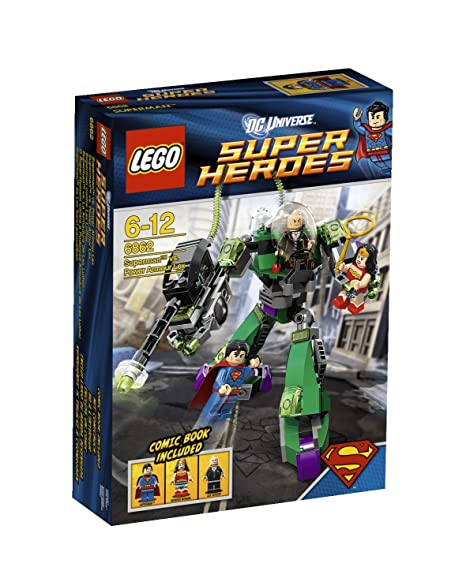 Lego Super Heroes - 6862 - Jeu de Construction - Superman vs Lex Luthor