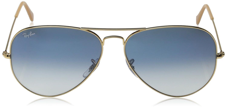 200578fe7467 ray-ban aviator polarized gradient sunglasses amazon mens ray ban ...