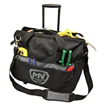 McGuire-Nicholas 22320W 20-Inch Rolling Tool Bag With Telescoping Handle