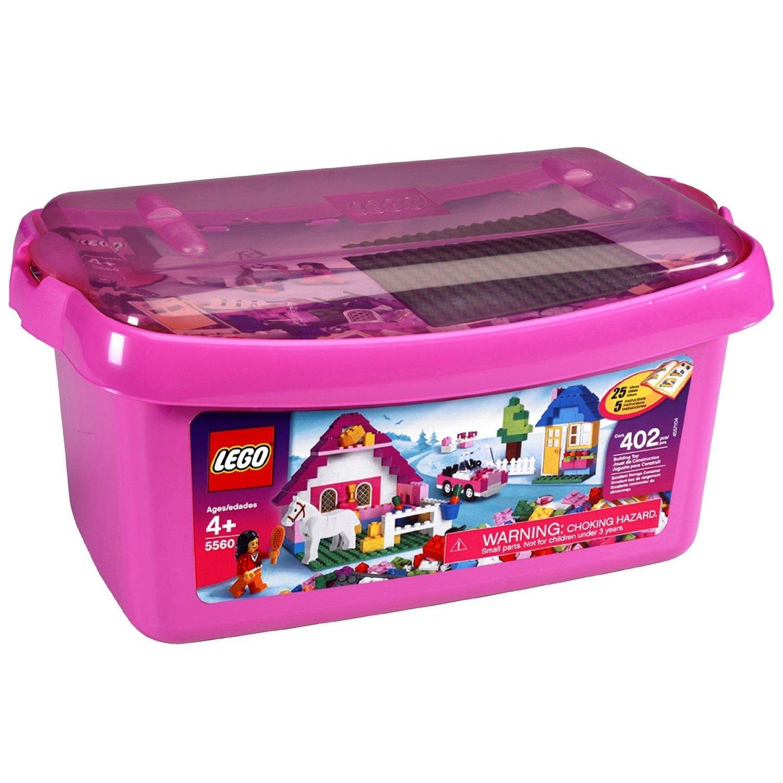 lego large pink brick box 5560 lego bricks lego price auto design