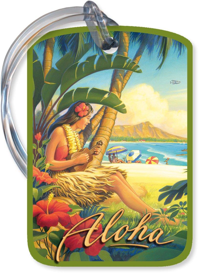 Hawaiian Luggage Sets Hawaiian Art Luggage Tag