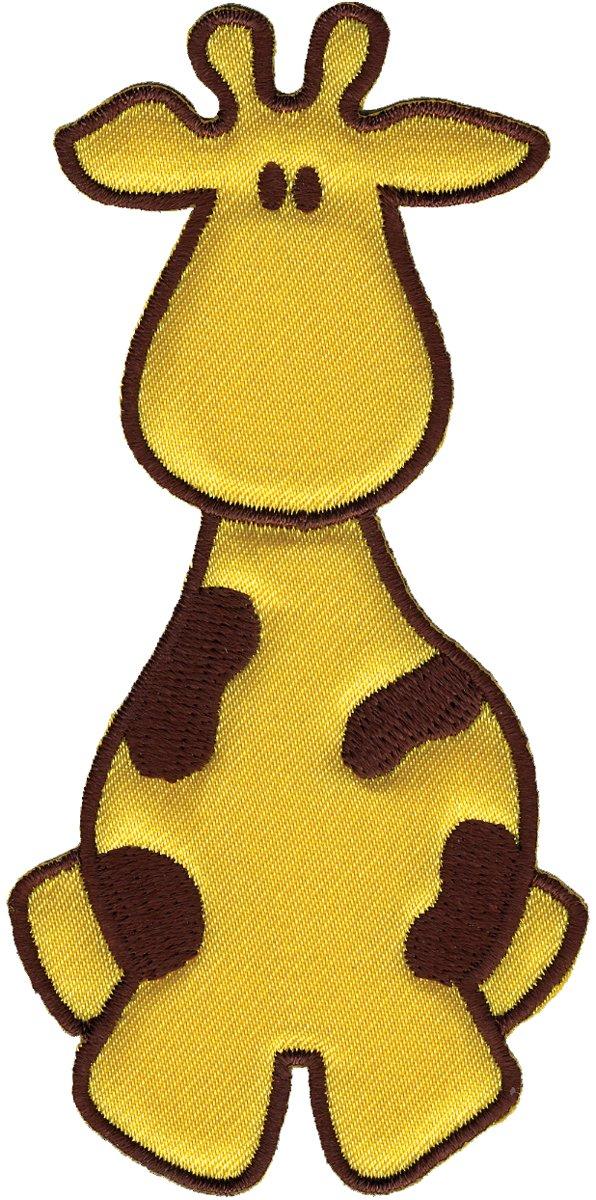 Wrights soprattutto Baby ferro sulle Appliques-giallo/marrone giraffa 2 X 4 1/Pkg   Más información y revisión del cliente