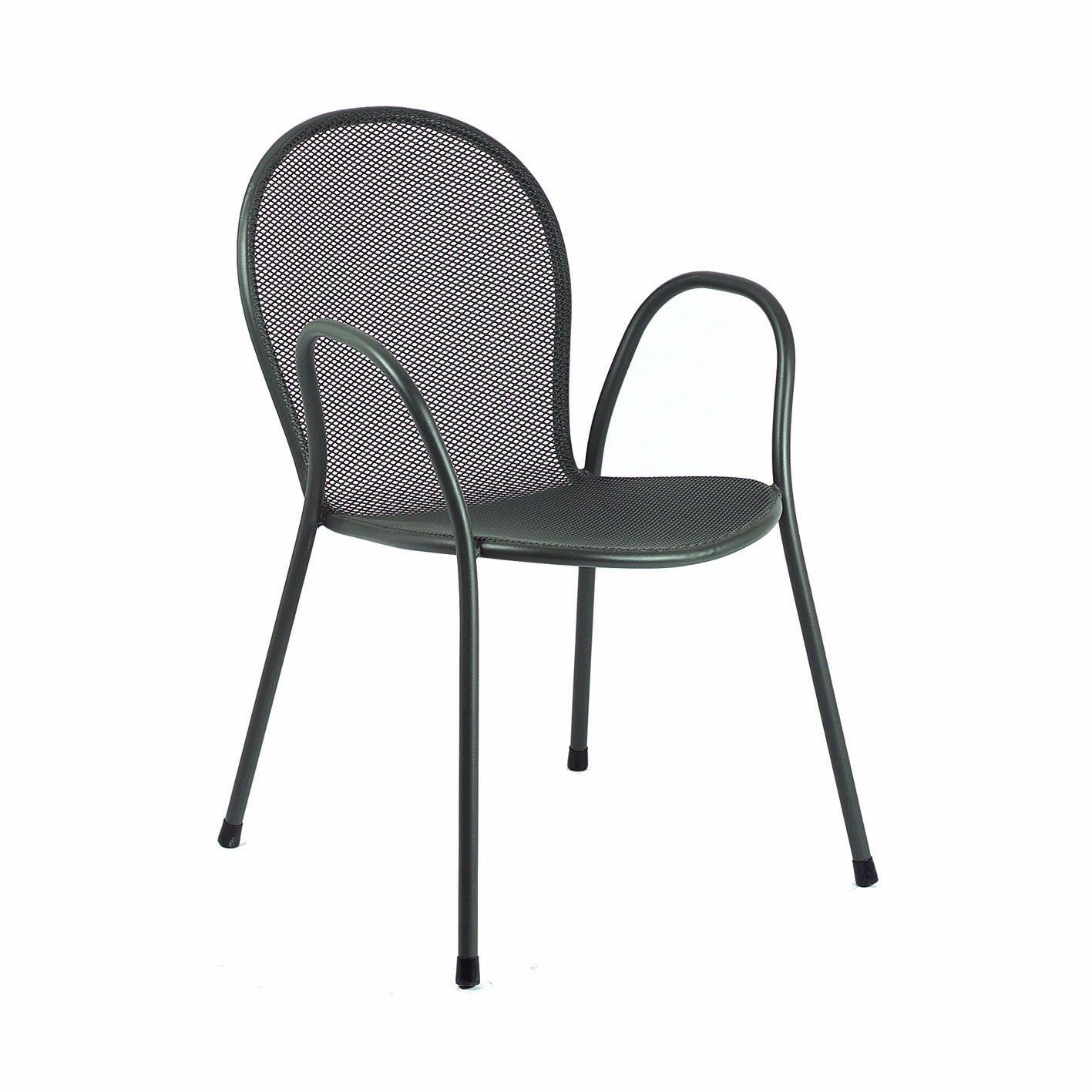 Emu Group Spa 301162200I4 Stapelstuhl Ronda 116I4, Pulverbeschichteter Stahl, antikeisen online bestellen