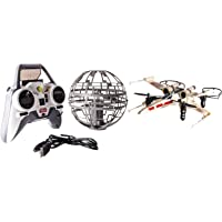 Air Hogs X-Wing vs. Death Star RC Drones Set