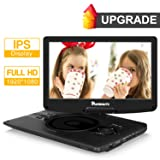 1920x1080 Full HD Portable DVD Player with 12.5