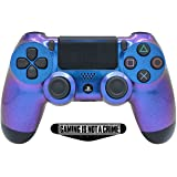 Enigma PS4 PRO Rapid Fire Custom Modded Controller 40 Mods for All Major Shooter Games, Fortnite & More, custom LED (CUH-ZCT2U) (Color: white)
