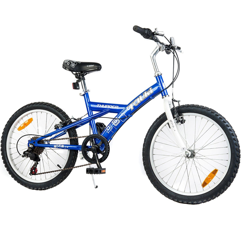 Tauki 20 inch Freestyle BMX Boy Bike, Kid Bike, 6 Speed,Blue
