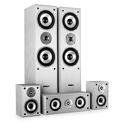 LTC E1004SI Pack d'enceinte 5.1 180 W Argent
