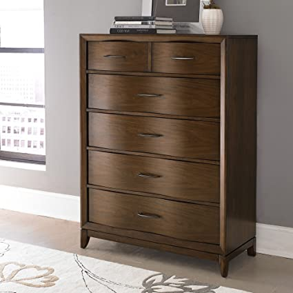 Madsen 6 Drawer Chest - Walnut