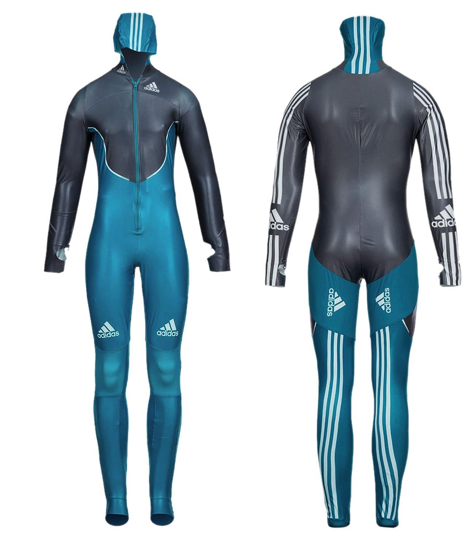 adidas Damen Skeleton Suit Skeletonanzug Einteiler günstig kaufen