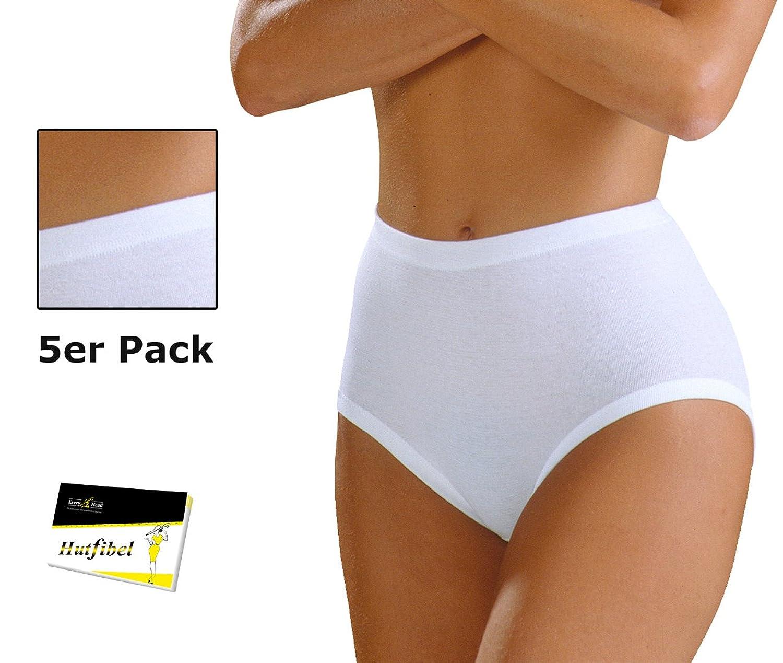 5er Pack Damen Taillenslip Schlüpfer Slip Panty Hipster (FS-145141) - inkl. EveryHead-Hutfibel