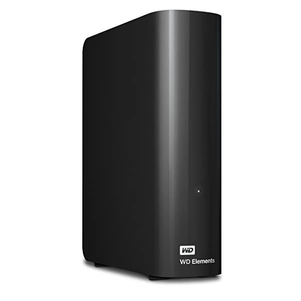 DISCO DURO DE ESCRITORIO WD 4TB ELEMENTS - USB 3.0 - WDBWLG0040HBK-NESN