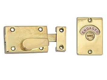 yale locks p127 verrou avec indication libre occup en anglais pour porte de salle de bains. Black Bedroom Furniture Sets. Home Design Ideas