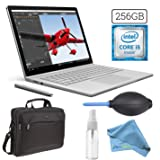 Microsoft Surface Book (256GB, 8GB RAM, Intel Core i5) + 15.6-Inch Microsoft Surface Carrying Case + 3in1 Cleaning Kit (Cleaning Solution, Keyboard Dust Blower, Microfiber Cloth) PRO Bundle
