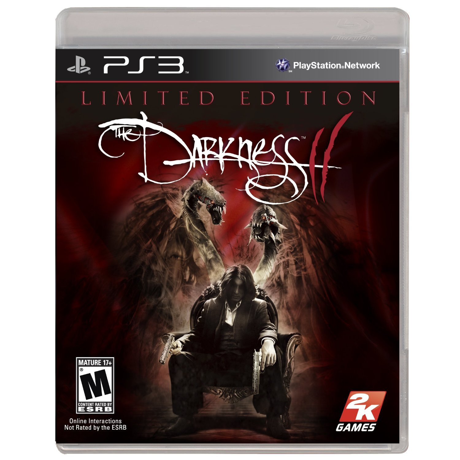 The Darkness 2 - Limited Edition PS3 [USA/CAN] anarchy reigns limited edition игра для ps3