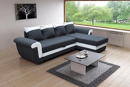 Ecksofa CLEO Couch Sofa mit Schlaffunktion! Eckcouch Sofagarnitur Modern